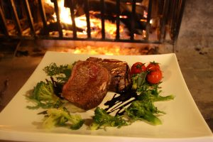 Ristorante con carne alla griglia a Teramo